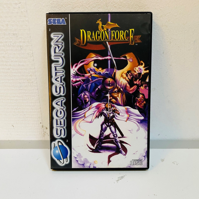 Dragon Force, Sega Saturn, Dragon Force til Sega Saturn…
