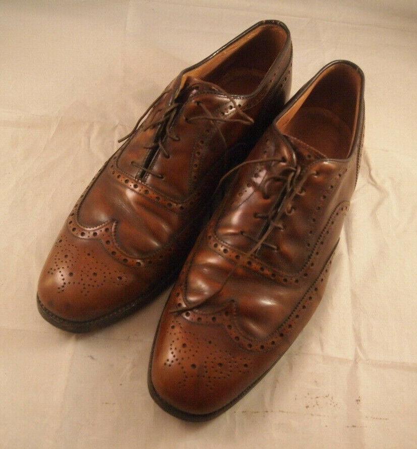 Johnson & Murphy Men's Size 10.5 Brown Vibram Dress shoes No Box