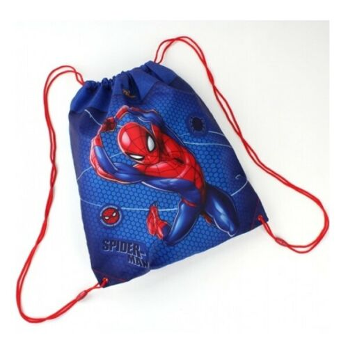 Marvel Spiderman Spinne Hero Turnbeutel Sportbeutel Bag Tasche Sport Turnen