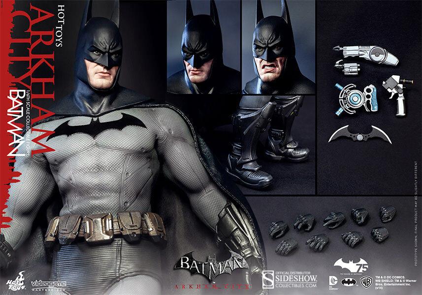 Sideshow Hot Toys Batman Arkham City New Mint in Box C10 Best Deal Courier