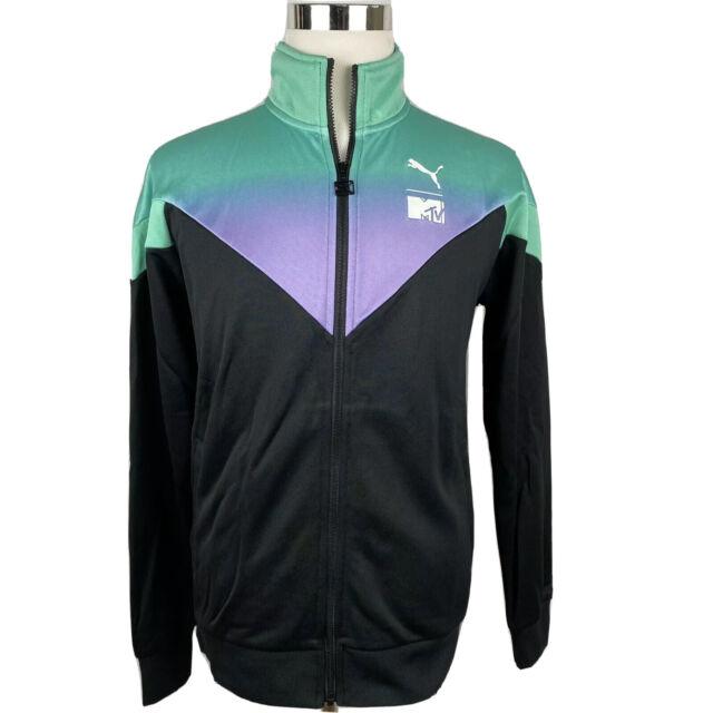 Tamano relativo Trastornado Emoción  PUMA X MTV MCS Men's AOP Track Top Jacket Size Medium 579818 01 for sale  online | eBay