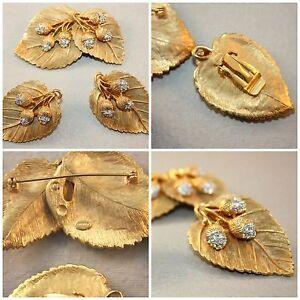 Parure Spilla e Orecchini Ghiande e Strass - Craft brooch & earring set 3 Acorns - Italia - Parure Spilla e Orecchini Ghiande e Strass - Craft brooch & earring set 3 Acorns - Italia