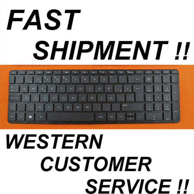 New For HP Pavilion 15-ab110la 15-ab111la 15-ab113la SP Spanish black keyboard