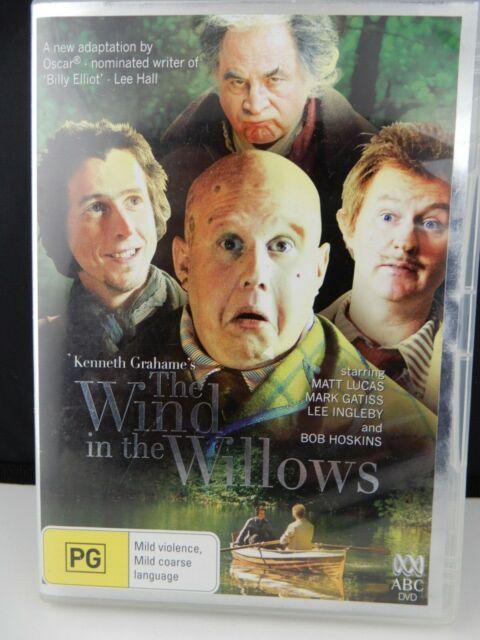 Wind in the Willows DVD Matt Lucas Mark Gatiss ABC PAL Region 4