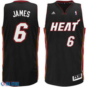 buy popular f4688 82ab7 Details about XL Lebron James #6 Heat Jersey official Nba jersey