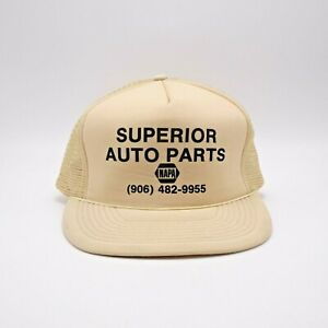 Superior Auto Parts >> Details About Superior Auto Parts Napa Trucker Hat Snapback Cap Foam Front