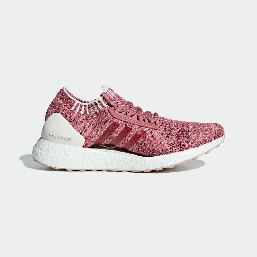 Adidas WOMEN RUNNING SHOES  - ULTRABOOST X - CONTINENTAL RUBBER - PINK [BB6510]