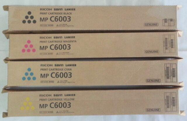 Genuine Ricoh Savin Lanier MAGENTA Toner  MP C6003 MP C5503 MP C4503 MP C6004