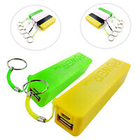 KEY CHAIN POWER 2600MAH POWER BATTERY BACK UP BANK FOR APPLE IPHONE 3 3G 3S 3GS