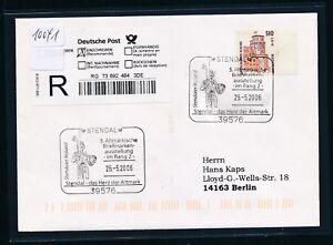 10041) Reco-lettre Ef Do-nominal 51opf/2, 61 € Sst Stendal 2006 5.bma-afficher Le Titre D'origine