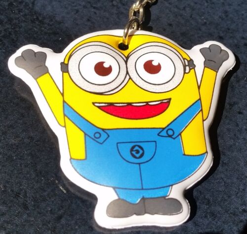 MINIONS YIPEE Banana time Soft Keychain Key chain collectible DESPICABLE ME