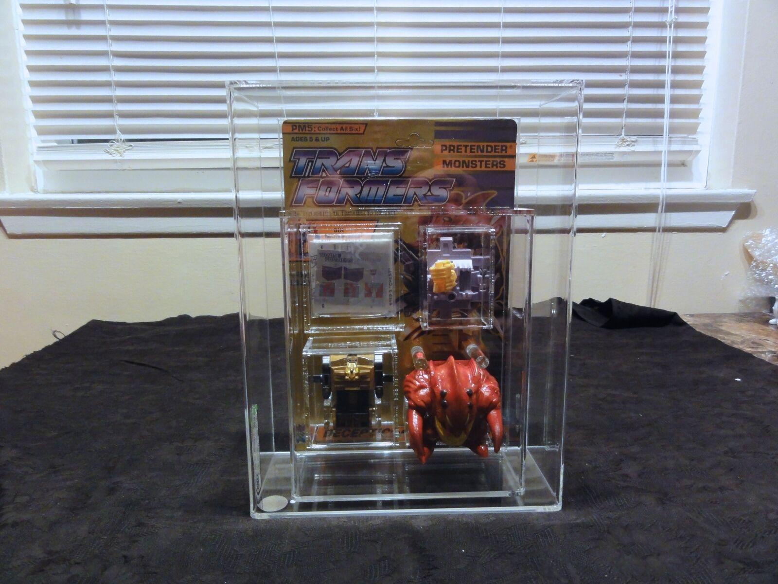 1989 Monstructor Transformers AFA  Pretenders Slog Loose MIB scatola MOC  per il tuo stile di gioco ai prezzi più bassi