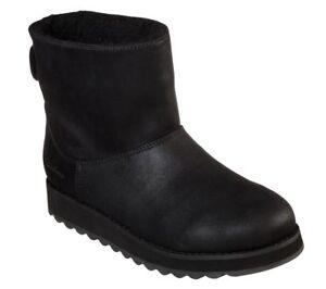 Detalles de Skechers Keepsakes 2.0 Upland Botas Forrado Espuma Viscoelástica Zapatos Mujer
