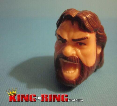 WWF Hasbro HACKSAW JIM DUGGAN Wrestling Figure HEAD Accessory Custom Fodder WWE