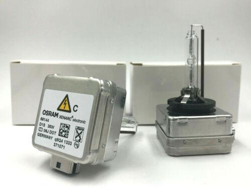 2x New OEM 07-15 Mini Cooper Osram D1S Xenon HID 35W Headlight Bulb