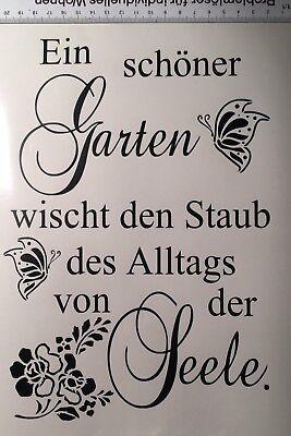 Shabby Wasserf.Aufkleber Möbeltattoo Garten f.alt Fenster, Schrank,Tisch,Vintage