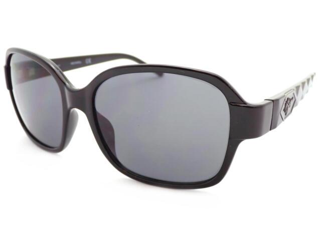 HARLEY DAVIDSON WOMEN/'S Shiny Black Occhiali da sole//Grigio Scuro Lenti HD5030S 01A