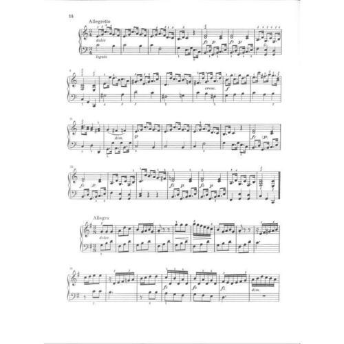 Leichte Klavierstücke Noten für Klavier 134 Klassik und Romantik Band 1