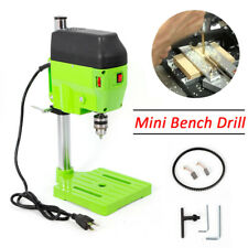 480w Electric Bench Drill Press Stand Compact Portable Wood Metal Drilling Tool