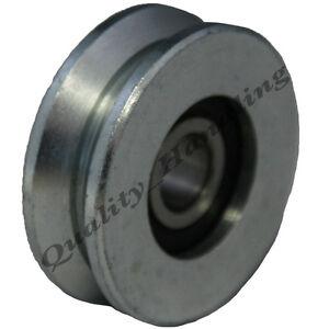 Gate wheel pulley