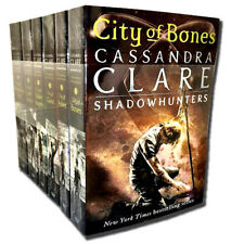 Shadowhunters Series Cassandra Clare Set 6 Books Collection Mortal Instruments