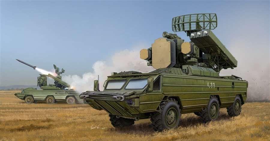 Trumpeter 1 35  05597 Russian SA-8 Gecko