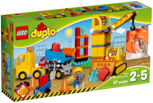 LEGO Duplo 10813 Big Construction Site, New, Sealed, Boxed, year 2016