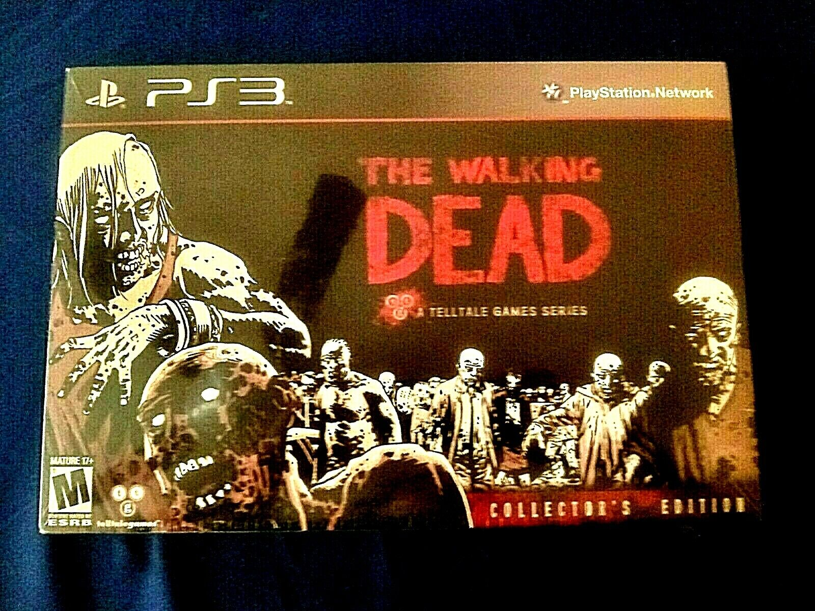 PS3:THE WALKING DEAD COLLECTORS EDITION Sealed in Box/New