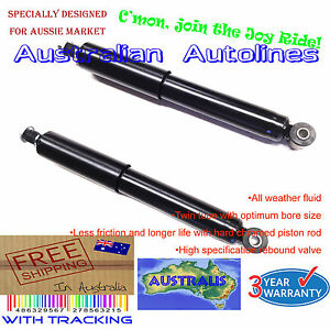 2 Mitsubishi Pajero NH NJ NK NL with rear coil springs HD Rear Shock Absorbers