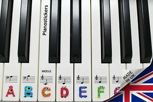Keyboard-or-Piano-Stickers-61-key-set-For-Kids-learn-to-play-THE-FUN-WAY