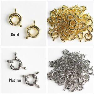 9mm-11mm-13mm-15mm-Gold-Platinum-Spring-Clasps-Closed-Ring-for-Bracelet-Necklace