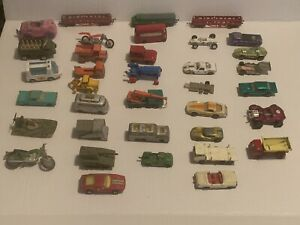 Matchbox-Lesney-Hot-Wheels-Vintage-Lot-Of-36