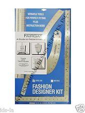 Fairgate 15 102 Fashion Designer S Kit Essential Pattern Making Rulers For Sale Online Ebay