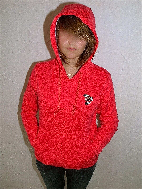 Hooded sweatshirt woman KANABEACH teenuts T 36 value NEW LABEL
