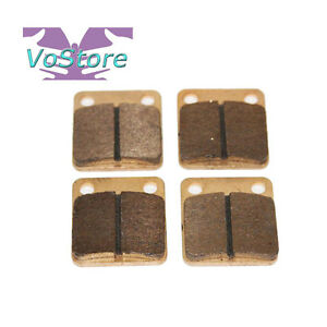 Yamaha YFM400 Big Bear 4WD IRS EBC Front Brake Pads 2007-2009 and 2011