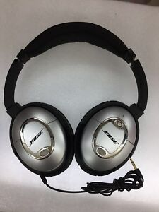 58d13f45677 Image is loading Refurbished-Bose-QuietComfort-2-QC2-Acoustic-Noise- Cancelling-