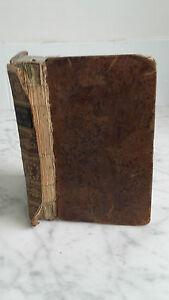 Histoire Abreviada DE IGLESIA - 1824 - Librero Ad Mame