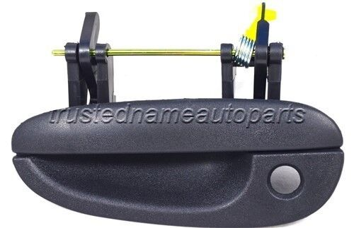 for Dodge Plymouth Outside Exterior Door Handle Driver Front Left Textured Black