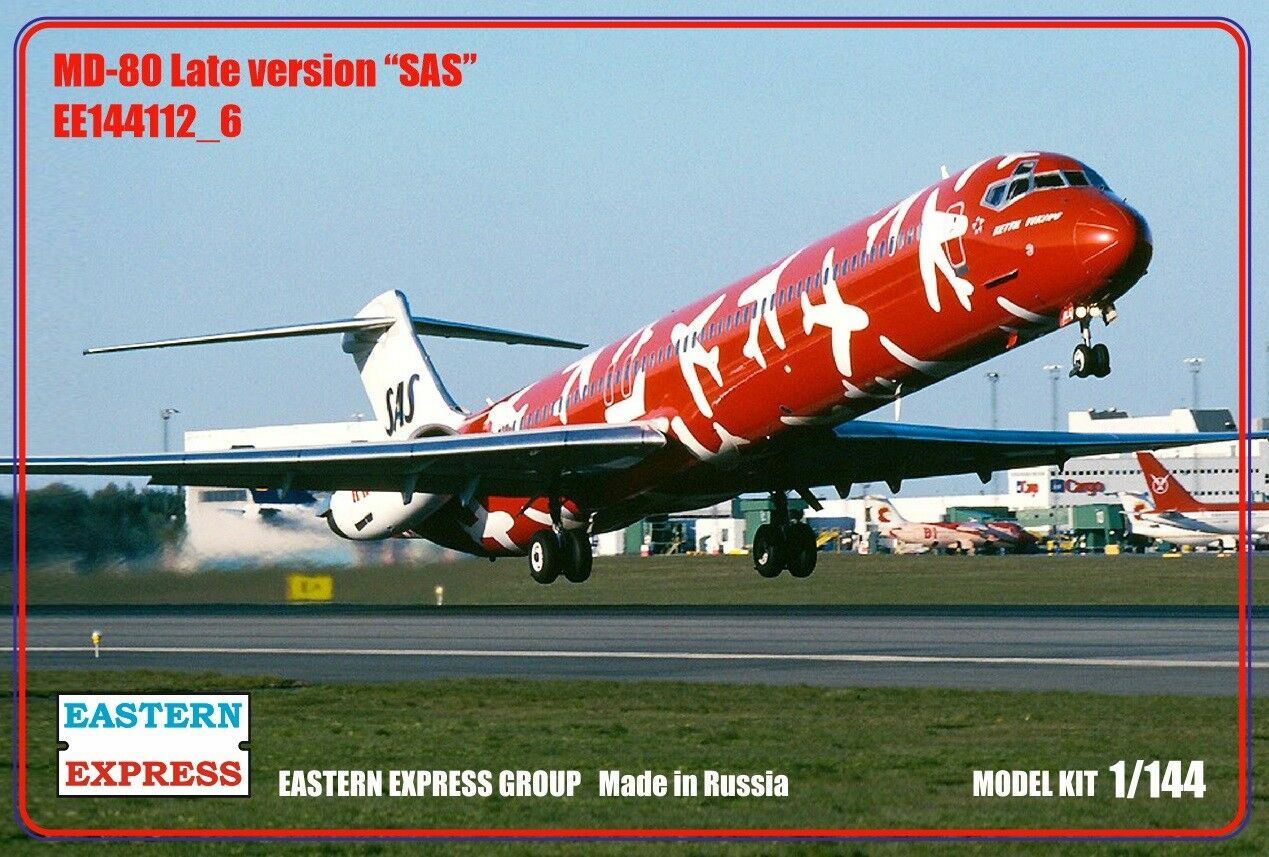 Eastern Express 1  144 Airliner MD -80 Late SAS EE144112 u 6