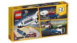 LEGO-SHUTTLE-TRANSPORTER-31091-3-in-1-CREATOR-Factory-Sealed