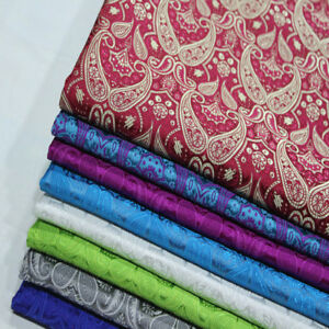 Cos-Chinese-Dress-kimono-Damask-Cloth-Jacquard-Brocade-Silk-Clothing-Fabric-Pipa