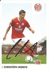 Christoph Moritz - FSV Mainz 05 - Saison 2015/2016 - Autogrammkarte