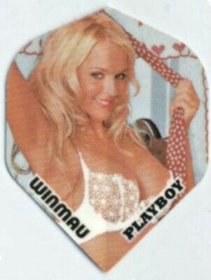 AnpassungsfäHig 9 Winmau Poly Dart Flights (3 Sets A 3 St.) Ca. 75 Micron Playboy Blonde Girl