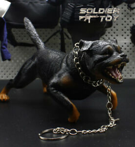 High-Quality-1-6-Scale-Roaring-Rottweiler-Dog-Yell-Model-for-12-034-Action-Figure