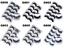 NEW-5-Pairs-Layered-False-Eyelashes-Dramatic-3D-Wispy-Lashes-Makeup-Strip-UK thumbnail 9
