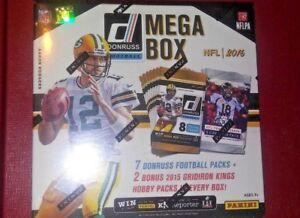 2016-PANINI-Donruss-Football-Mega-Box-7-Retail-2-Grid-Iron-Kings-Hobby-Packs