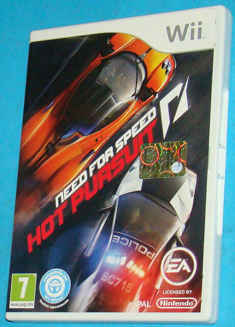 Need For Speed Hot Pursuit - Nintendo WII - PAL