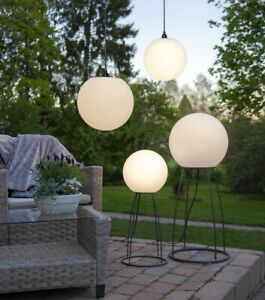LED-Gartenlampe-Haengelampe-Gartenobjekt-Kugel-Lampe-Fassung-E27-IP44