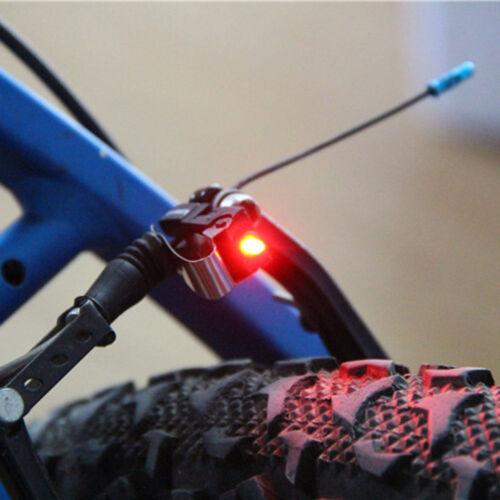 Bike Brake Light Mount Tail Rear Bicycle Cycling LED Safety Warning Lamp Clip