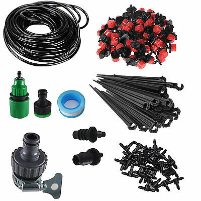 "1/4"" Blank Distribution Tubing Irrigation Gardener Plant Watering Drip Kit"